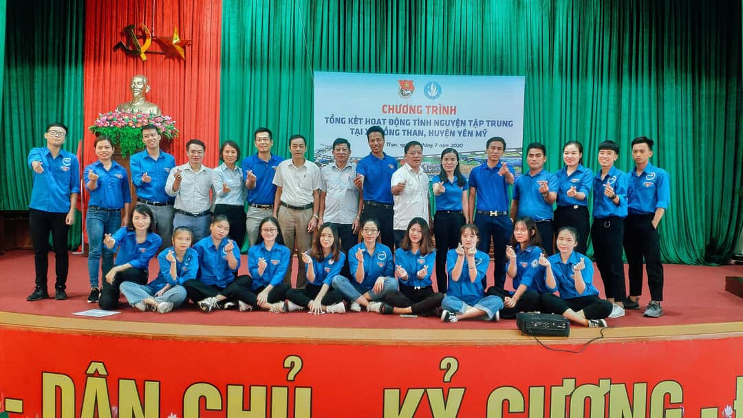 Tổng kết Chiến dịch mùa hè thanh niên tình nguyện 2020 Trường Đại học Tài chính – Quản trị kinh doanh