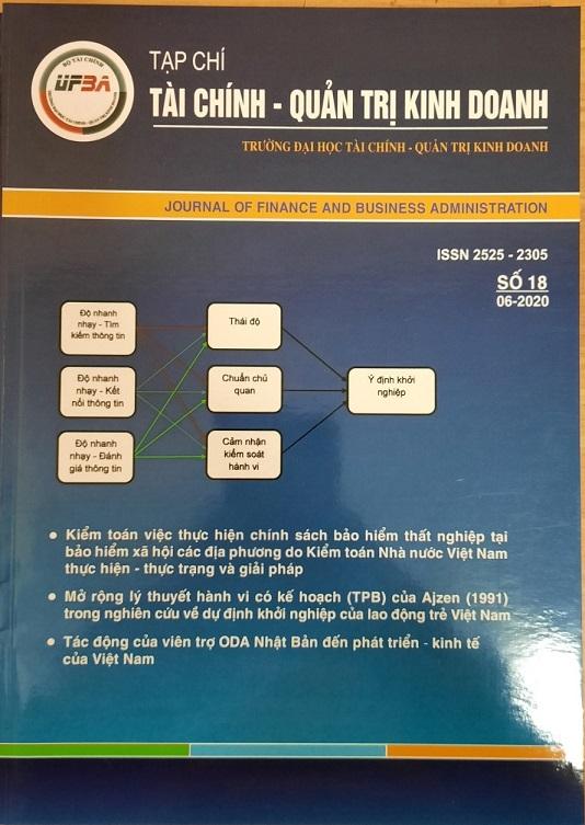 Tạp chí Tài chính - Quản trị kinh doanh, Số 18 / 06-2020
