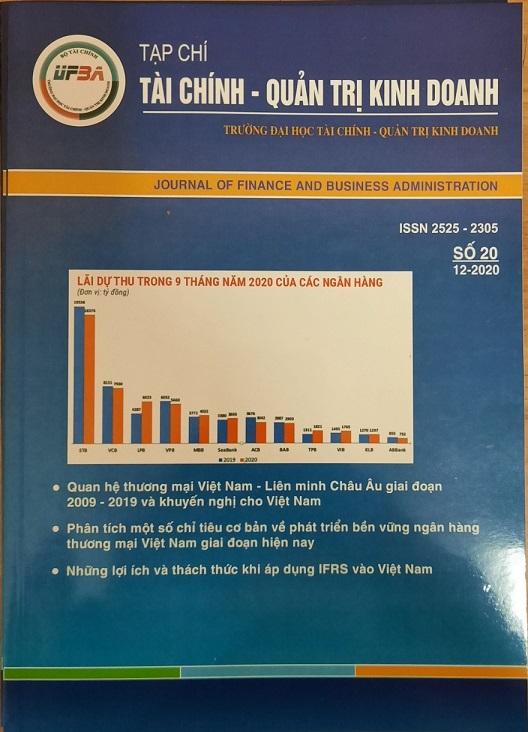 Tạp chí Tài chính - Quản trị kinh doanh, Số 20 / 12-2020