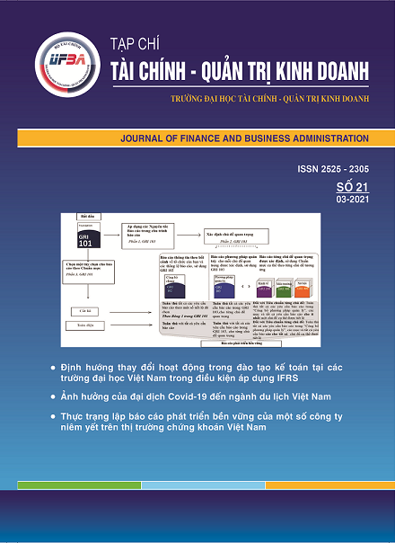Tạp chí Tài chính - Quản trị kinh doanh, Số 21/ 03-2021