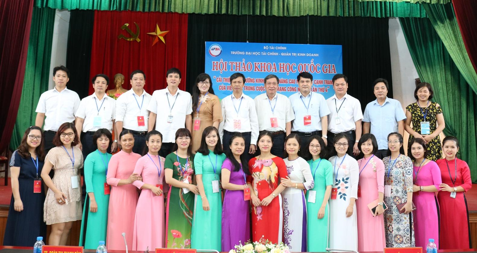 """Hội thảo Khoa học Quốc gia: """" Cải thiện môi trường kinh doanh, nâng cao năng lực cạnh tranh của Việt Nam trong cuộc cách mạng công nghiệp lần thứ 4"""""""