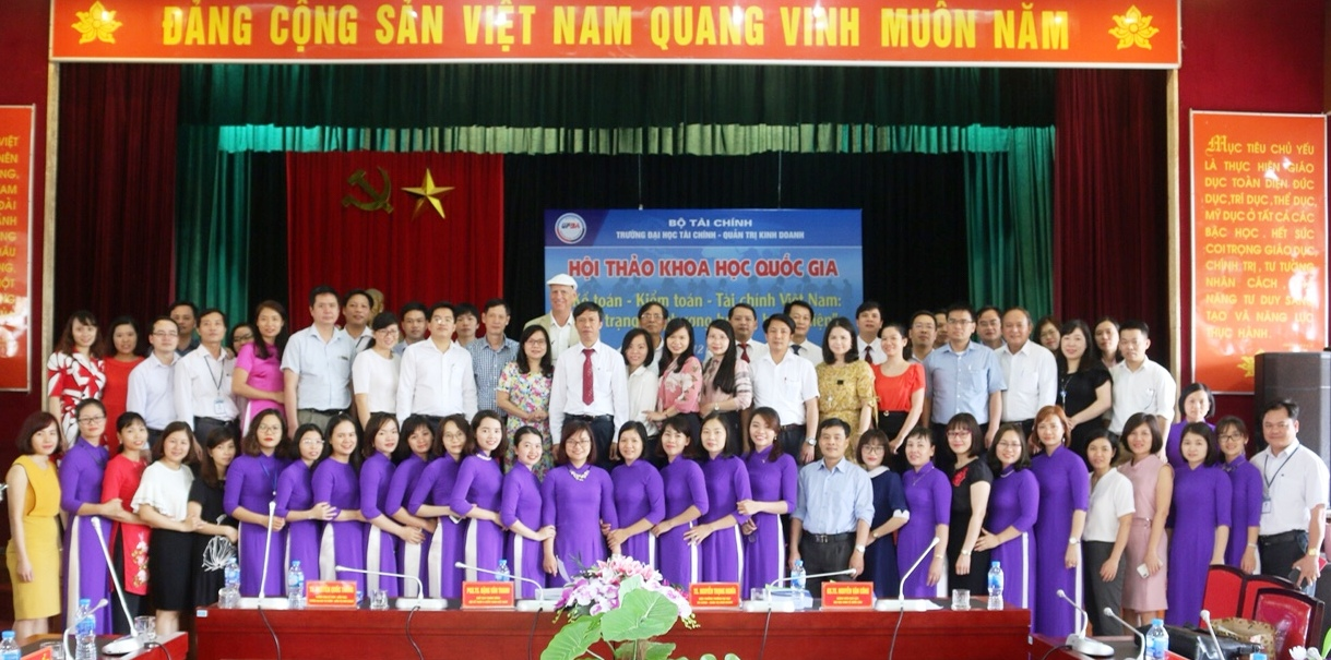 """Hội thảo Khoa học Quốc gia: """" Kế toán - Kiểm toán - Tài chính Việt Nam: Thực trạng và phương hướng hoàn thiện"""""""