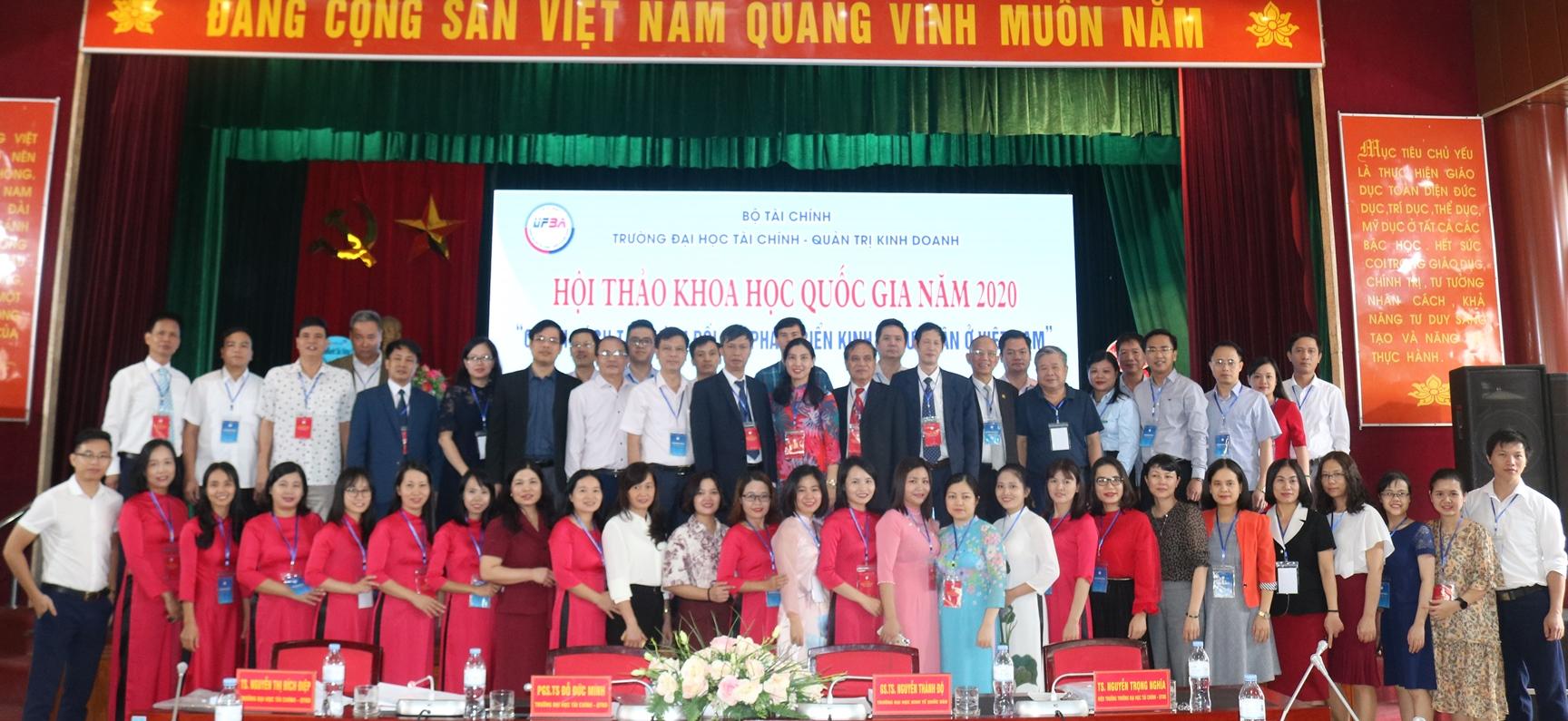 Hội thảo quốc gia: Chính sách tài chính đối với phát triển kinh tế tư nhân ở Việt Nam